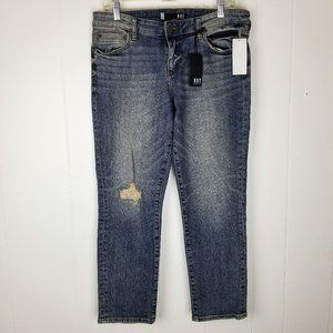 Kut from the Kloth Catherine Ankle Straight Jeans